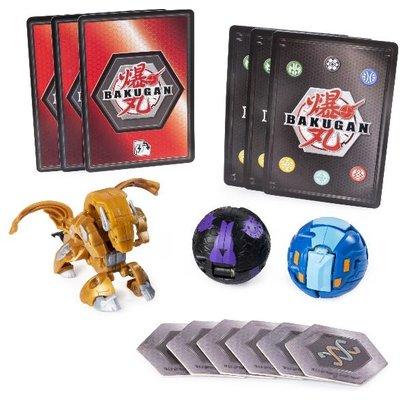 Bakugan: Starter Pack 3-Pack, Aurelus Howlkor, Collectible A