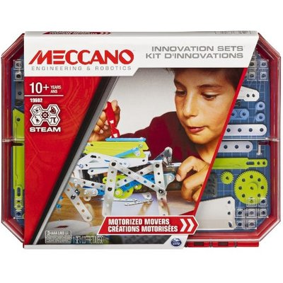 Meccano Motorised Movers - S.T.E.A.M. Building Kit