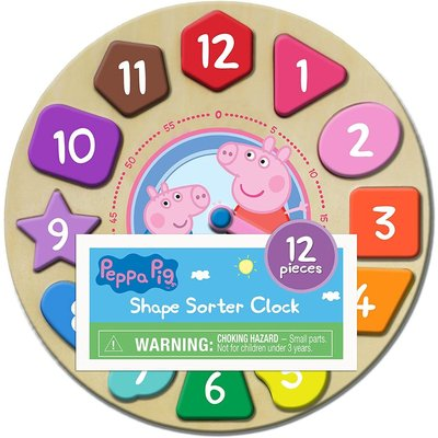 Peppa Pig Shape Sorter Puzzle