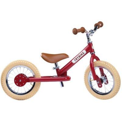 Trybike - Steel 2 In 1 Balance Trike / Bike Vintage Red