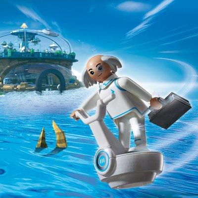 Playmobil Super 4 Dr.X 6690