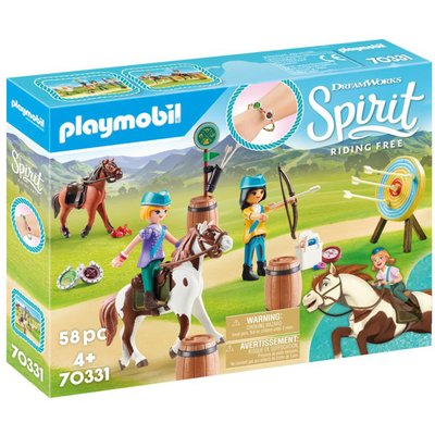 Playmobil DreamWorks Spirit 70331 Outdoor Adventure