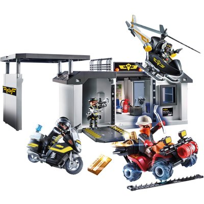 Playmobil 70338 City Action Take Along Tactical Unit Headqua
