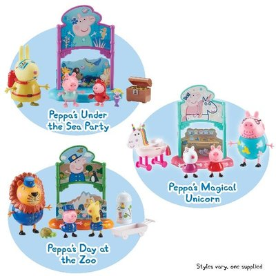 Peppa Pig Theme Playsets Assortment