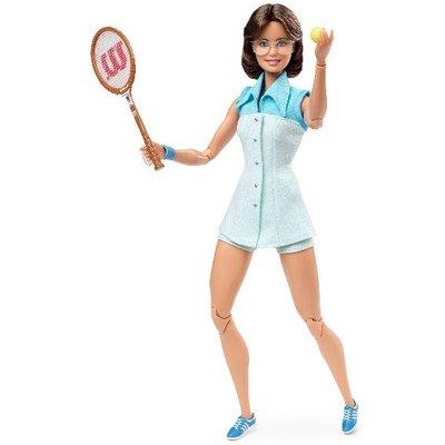Billie Jean King Barbie Inspiring Women Doll