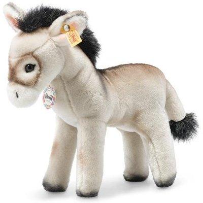 Steiff Back in Time Eselie donkey (Grey)