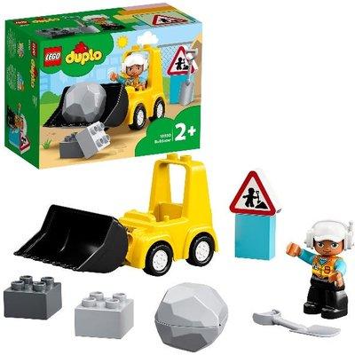 LEGO DUPLO Bulldozer Construction Vehicle Toy Set 10930