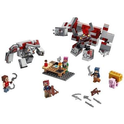 LEGO Minecraft The Redstone Battle Building Set 21163