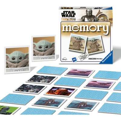 Ravensburger Star Wars The Mandalorian Mini Memory Game