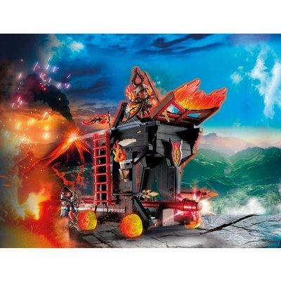 Playmobil 70393 Novelmore Knights Burnham Raiders Fire Ram