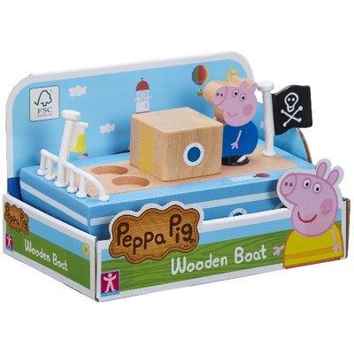 Peppa Pig Wooden Boat
