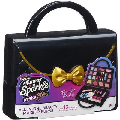 Shimmer N Sparkle All In One Beauty Makeup Purse