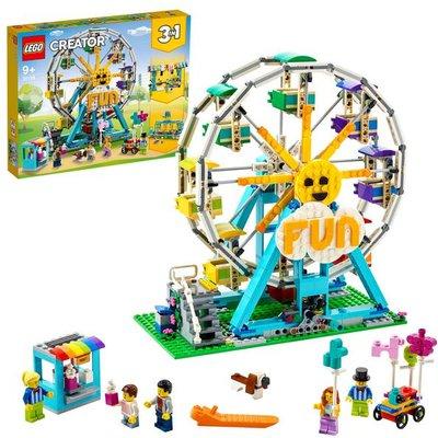 LEGO Creator 3in1 Ferris Wheel Fairground Building Set 31119