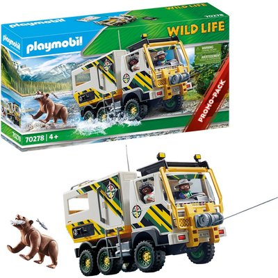 Playmobil 70278 Wild Life Promo Outdoor Expedition Truck