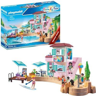 Playmobil 70279 Family Fun Promo Waterfront Ice Cream Shop