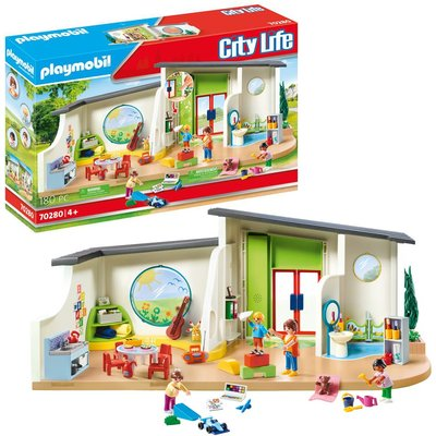 Playmobil 70280 City Life Pre-School Rainbow Daycare