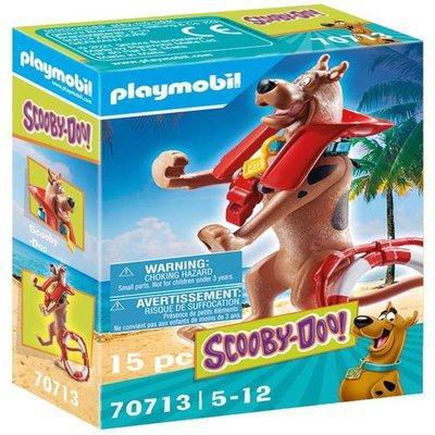 Playmobil 70713 SCOOBY-DOO! Collectible Lifeguard Figure