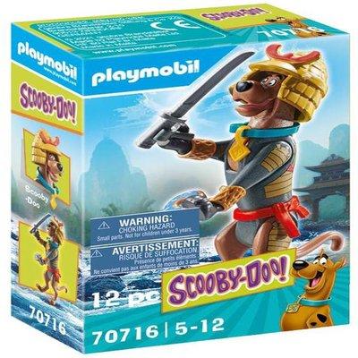 Playmobil 70716 SCOOBY-DOO! Collectible Samurai Figure
