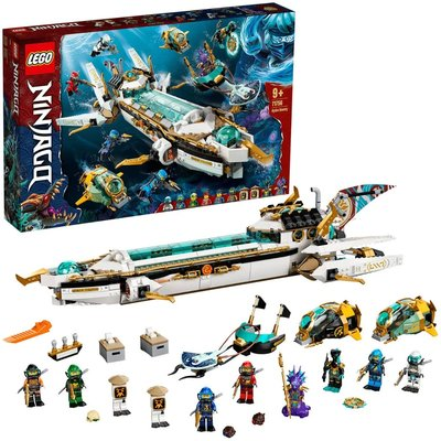 LEGO NINJAGO Hydro Bounty Submarine Toy Building Set 71756