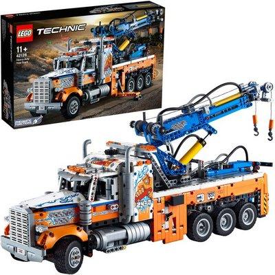 LEGO Technic Heavy-Duty Tow Truck Model Building Set 42128