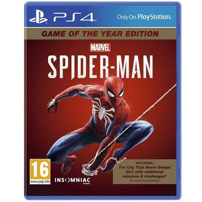 Marvel Spider Man Game Of The Year Edition (PS4)