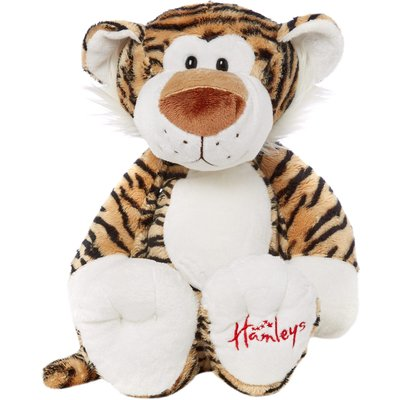 Hamleys Quirky Tiger Soft Toy