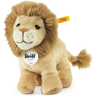 Steiff 16cm Beige Leo Lion Soft Toy