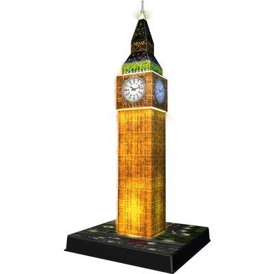 Ravensburger Big Ben Night Edition 216 Piece 3D Puzzle