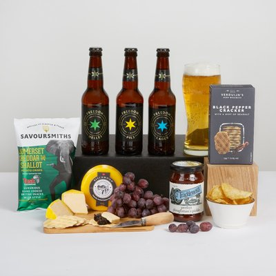 Craft Beer & Cheese Hamper
