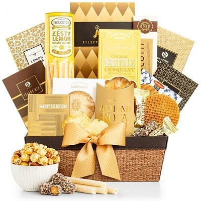 The Golden Gift Basket