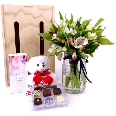 With Love Flower Gift