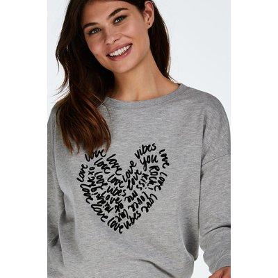 Hunkemöller Langarm-Sweater Grau