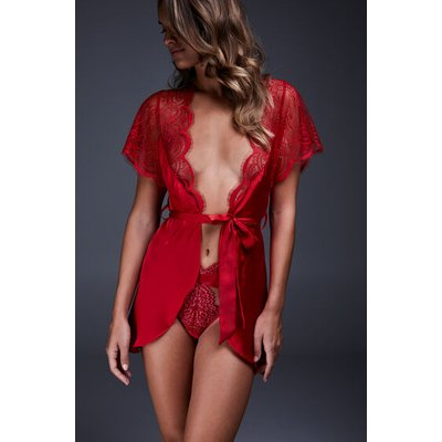 Hunkemöller Kimono Cap Sleeve Rot