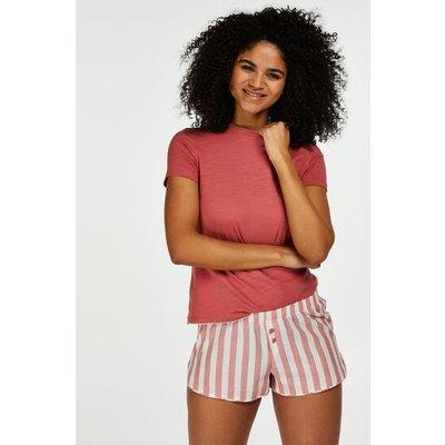 Hunkemöller Shorts Stripe Rot