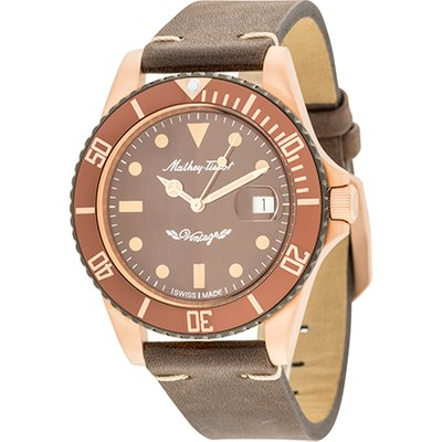 Mathey-Tissot Gent's Rolly Automatic Watch with Bronze PVD Plated Case