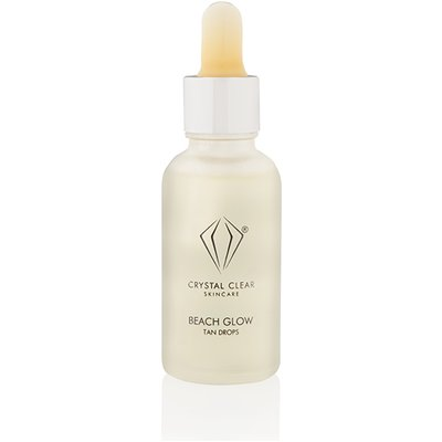 Crystal Clear Beach Glow Tan Drops 30ml