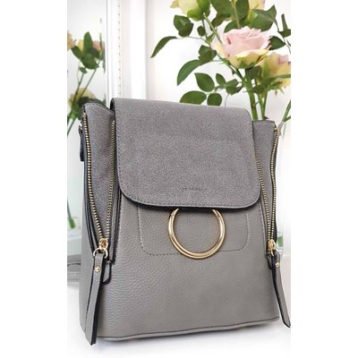 IKRUSH Womens Casia Faux Leather Multiway Bag