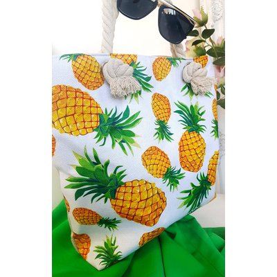 IKRUSH Womens Dora Pineapple Beach Bag