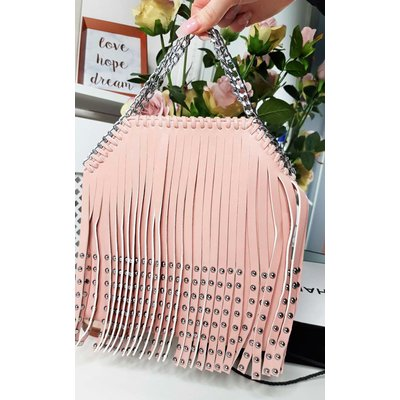 IKRUSH Womens Kerri Studded Fringe Crossover Bag
