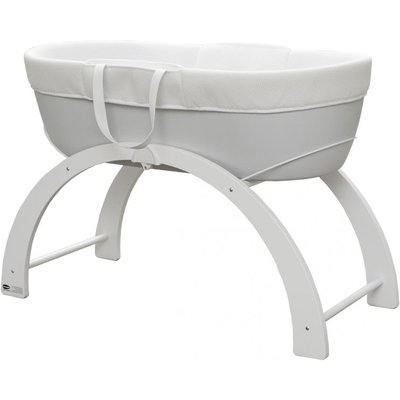 Shnuggle Dreami Moses Basket & Stand-White Base (New)