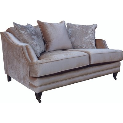 Belvedere Beige 2 Seater Sofa
