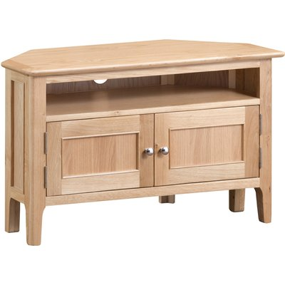 Sadie Oak Corner TV Unit