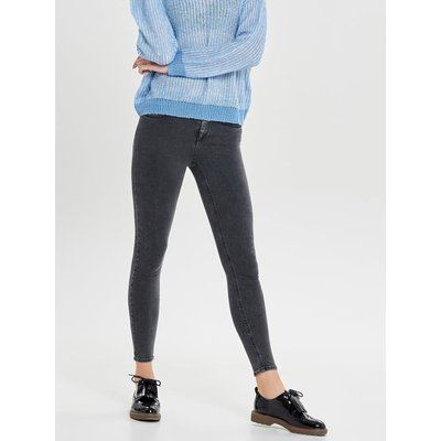 ONLY ONLY Blush Mid Skinny Fit Jeans Damen Grau