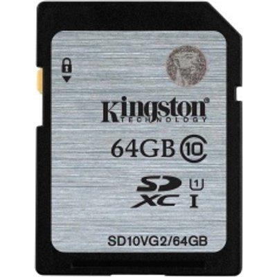 Kingston SDXC Class 10 UHS I Card   64GB - 0740617243512
