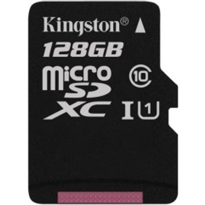 Kingston microSDXC Class 10 UHS I Card   128GB - 0740617246247