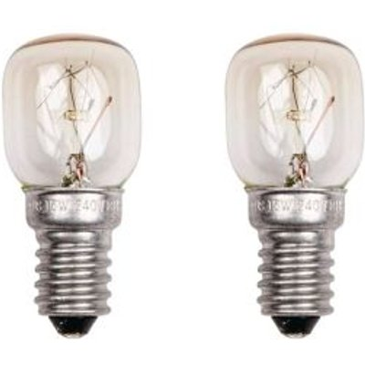 Status Small Screw Refrigerator Bulbs 15W 2 Pack