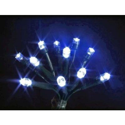 240 LED White Indoor Animated Chasing Fairy Lights Mains 16m