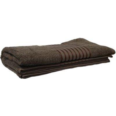 Bath Sheet Towel 90 x 135cms Brown