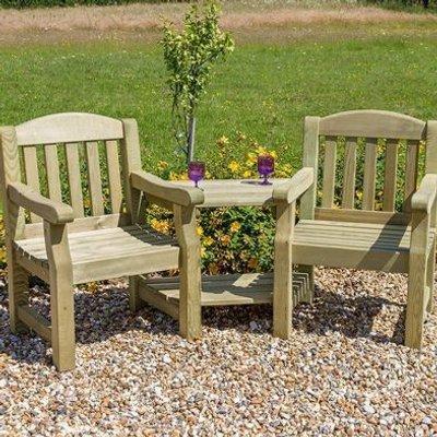 Emily Garden Love Seat