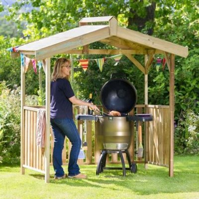 Ashton Garden Barbecue Shelter